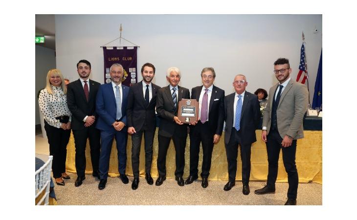 Lions Club, l'anno si apre con tre nuovi soci ed un premio per Renato Andalò