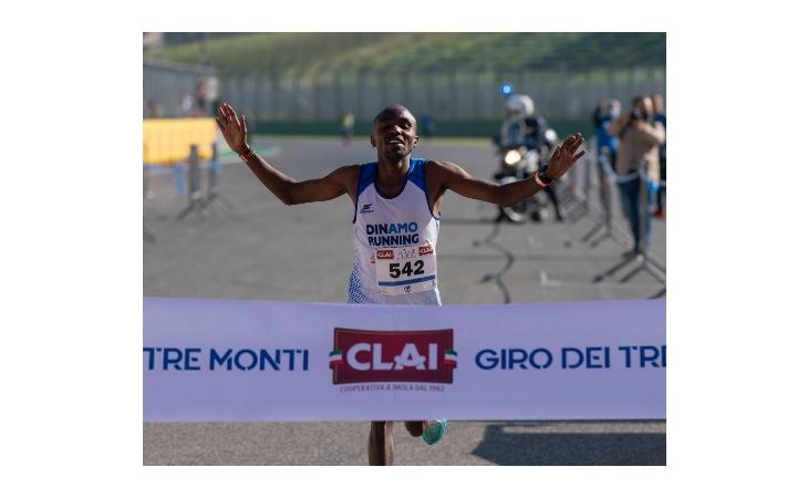 Podismo, il Giro dei Tre Monti 2021 parla keniano