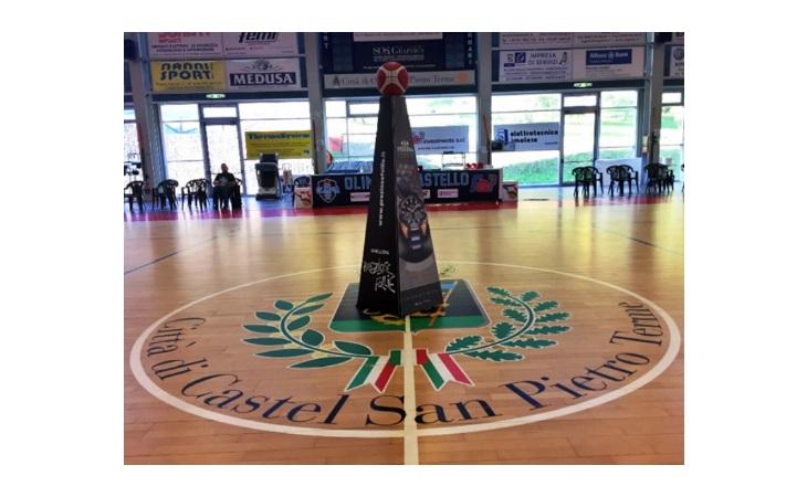 Basket C Gold, scivolone interno per l'Olimpia Castello