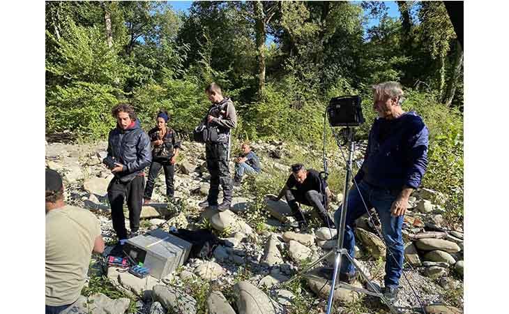 Castel del Rio set del film thriller italo-olandese «Dark Matter»